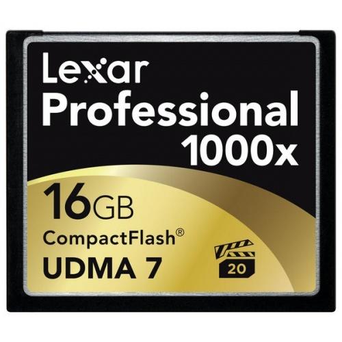 LEXAR CF 16GB 1000x UDMA Professional